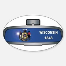 Driving Through Wisconsin Decal