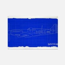 Fighter Plane Blueprint s Magnets