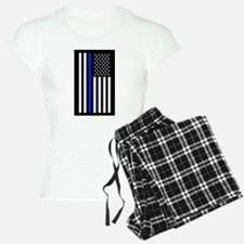 American Flag Police Pajamas