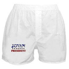 JOVAN for president Boxer Shorts