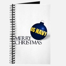 Merry US Navy Christmas Journal