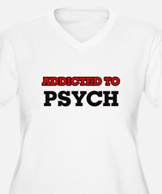 Addicted to Psych Plus Size T-Shirt