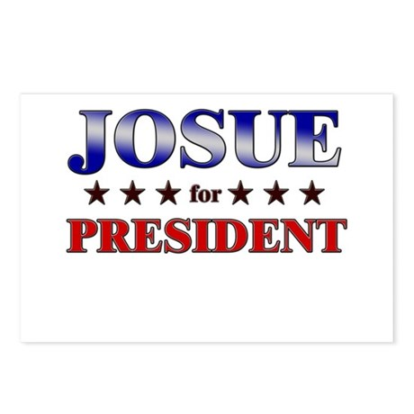 JOSUE for president Postcards (Package of 8)