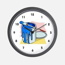 House Painter Wall Clock