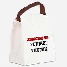 Addicted to Punjabi Thumri Canvas Lunch Bag