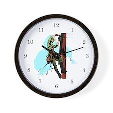 Electrician / Lineman Wall Clock