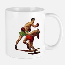 Vintage Sports Boxing Mugs