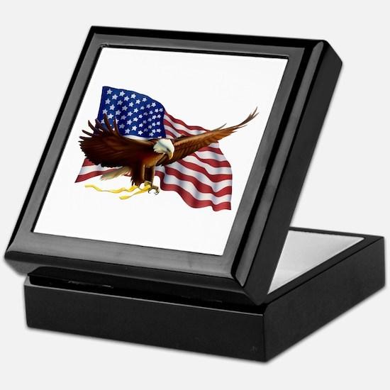 Unique Boston college eagles Keepsake Box
