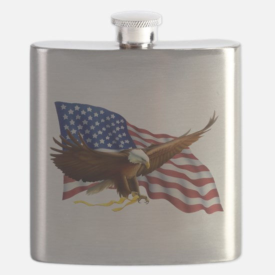 Cute Best selling god bless america Flask