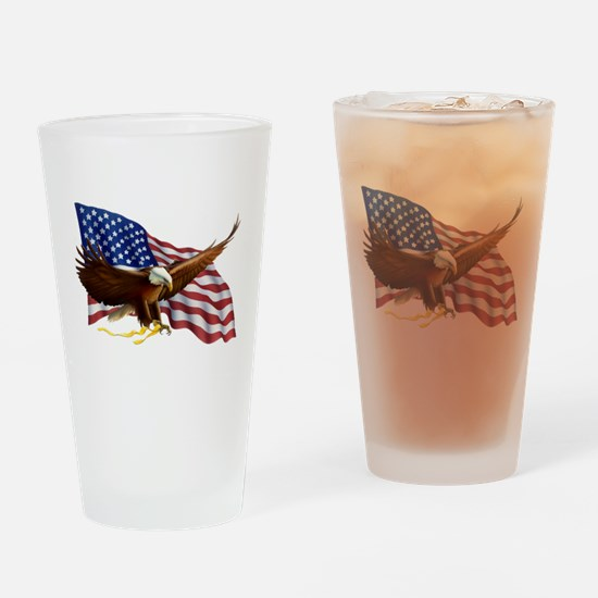 Cute United we stand Drinking Glass