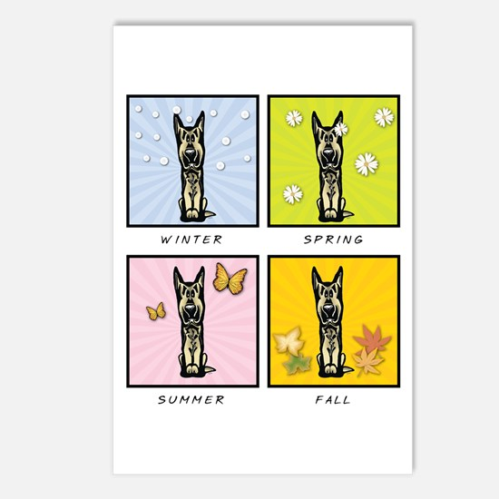 4 Seasons Shepherd Postcards (Package of 8)