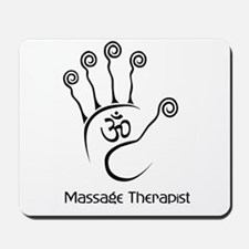 Cute Massage therapist Mousepad