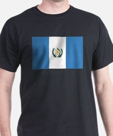 Guatemalan Flag Ash Grey T-Shirt