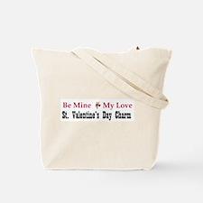 Valentine Heart Peace Symbol Tote Bag