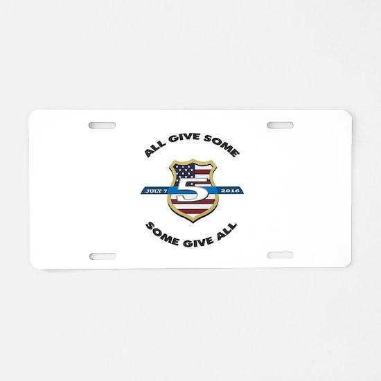 Funny Police memorial Aluminum License Plate