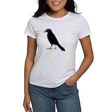 Funny Raven skull Tee