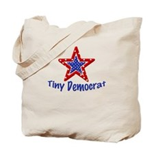 Tiny Democrat STAR Tote Bag