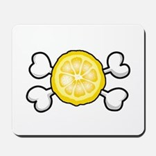 Lemon Slice & Crossbones Mousepad