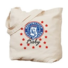 Republican Baby ELEPHANT Tote Bag