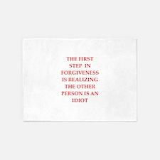 forgiveness 5'x7'Area Rug