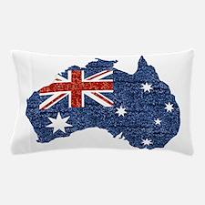 sequin australian flag Pillow Case
