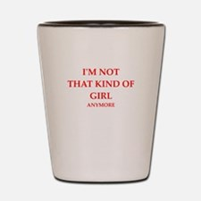girl Shot Glass