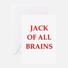 jack of all Greeting Cards