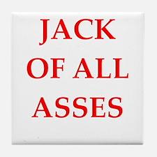 jack of all trades Tile Coaster