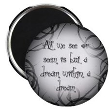 """Dream within a Dream2.25"""" Magnet (10 pack)"""