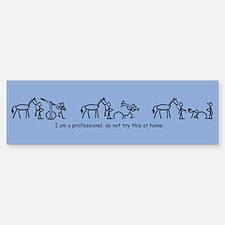 I am a Professional: Trainer / Bumper Bumper Bumper Sticker