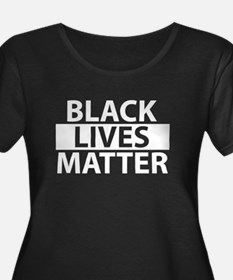 Black Lives Matter - White Plus Size T-Shirt