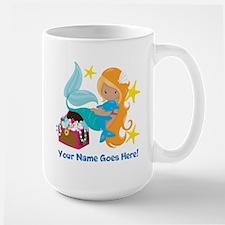 Blond Mermaid Mugs