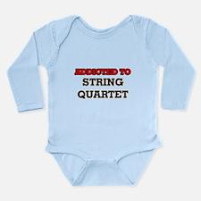 Addicted to String Quartet Body Suit