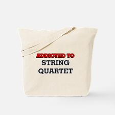 Addicted to String Quartet Tote Bag