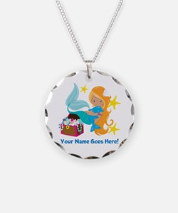 Blond Mermaid Necklace