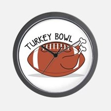 Turkey Bowl Wall Clock