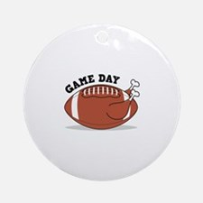 Game Day Round Ornament