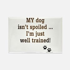 Spoiled Dog Rectangle Magnet