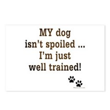 Spoiled Dog Postcards (Package of 8)