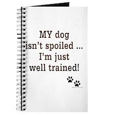 Spoiled Dog Journal