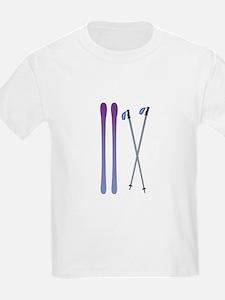 Skis & Poles T-Shirt