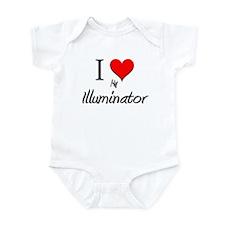 I Love My Illuminator Infant Bodysuit