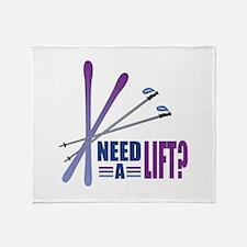 Need A Lift Throw Blanket