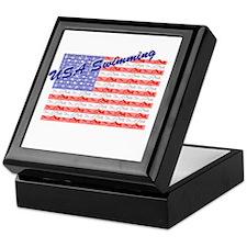 USA Swimming Keepsake Box