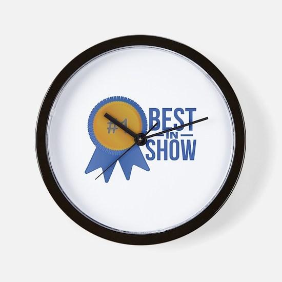 Best In Show Wall Clock