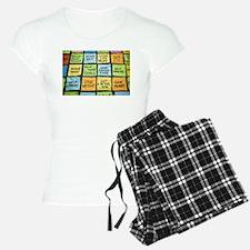 The words Pajamas