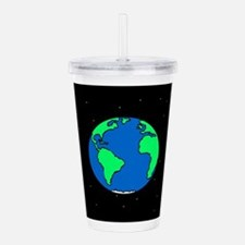 Earth And Stars Acrylic Double-wall Tumbler
