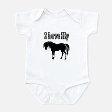 Love My Pony Infant Bodysuit