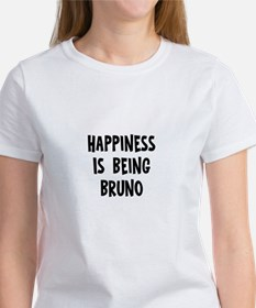 Happiness is being Bruno Tee