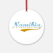 Beach Namibia Ornament (Round)